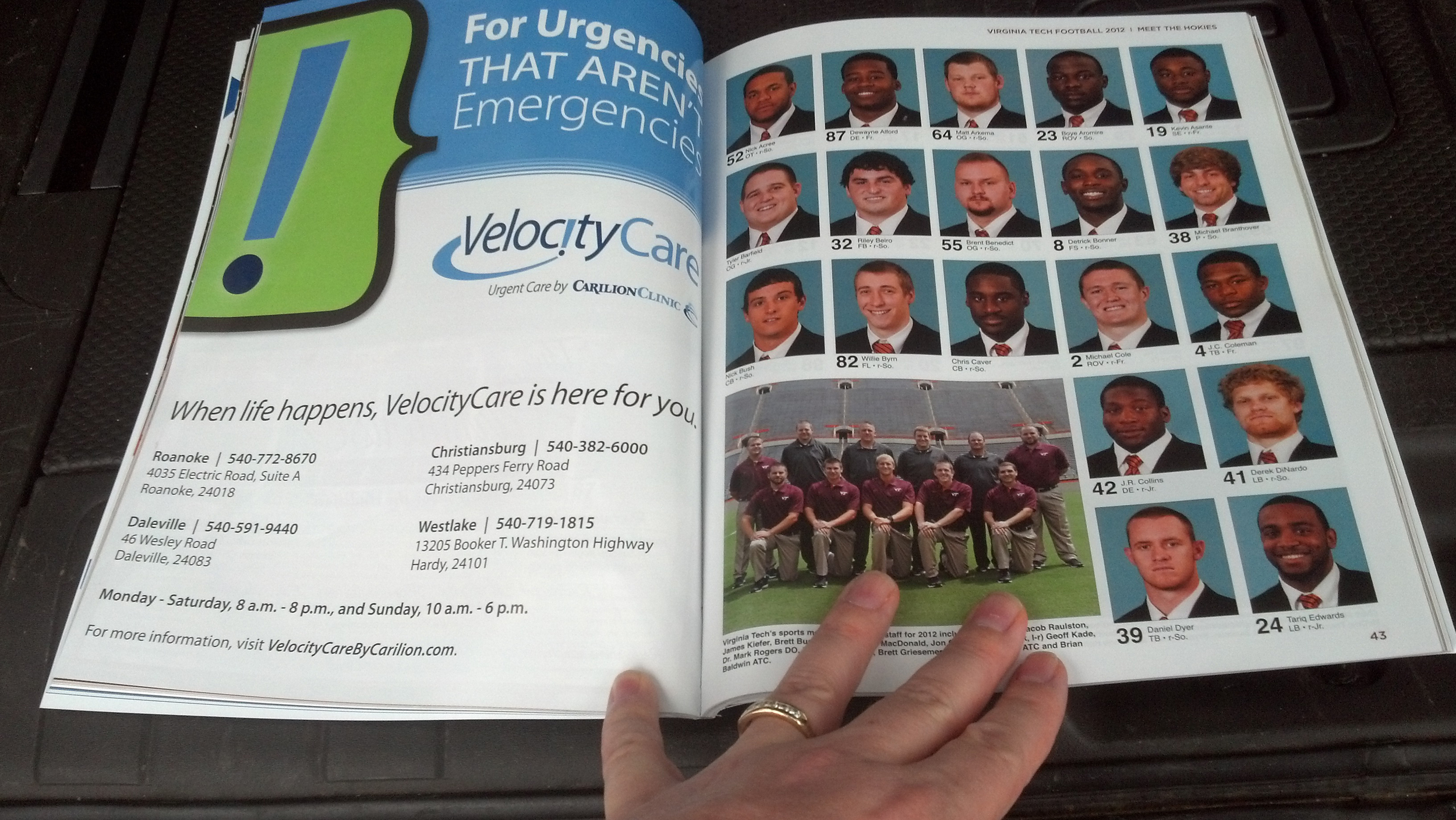 VelocityCare in Hokies Program.jpg