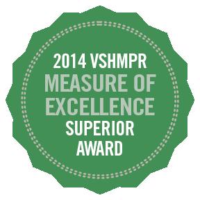 2014 VSHMPR Measure of Excellence Superior Award.png