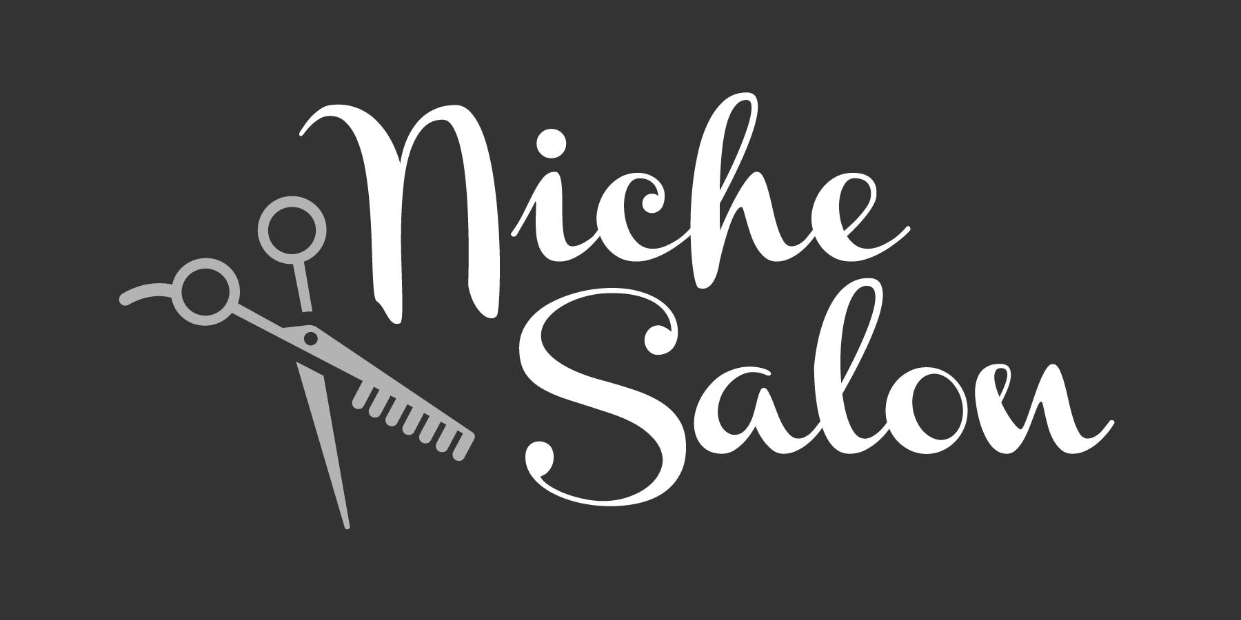 Niche Salon logo_white gray scissors on dark gray.jpg