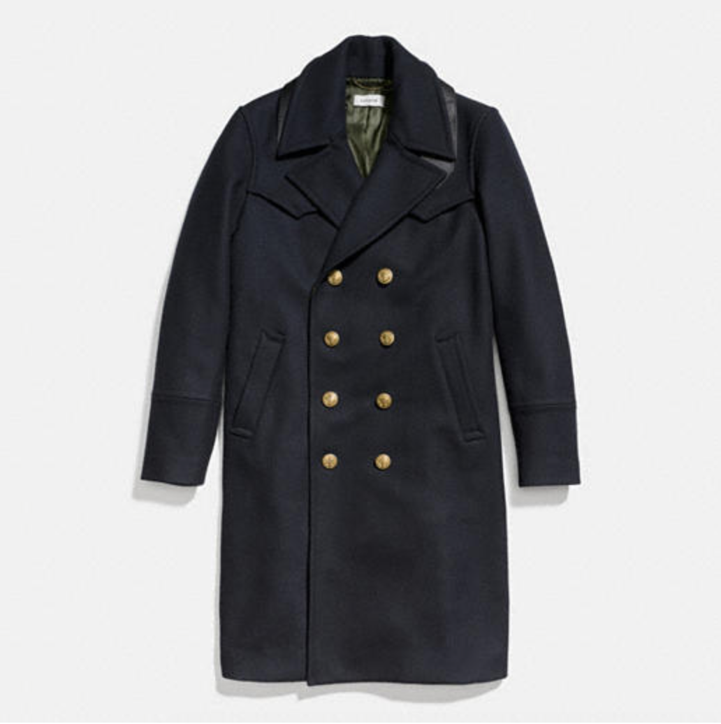 Wool Captains Coat