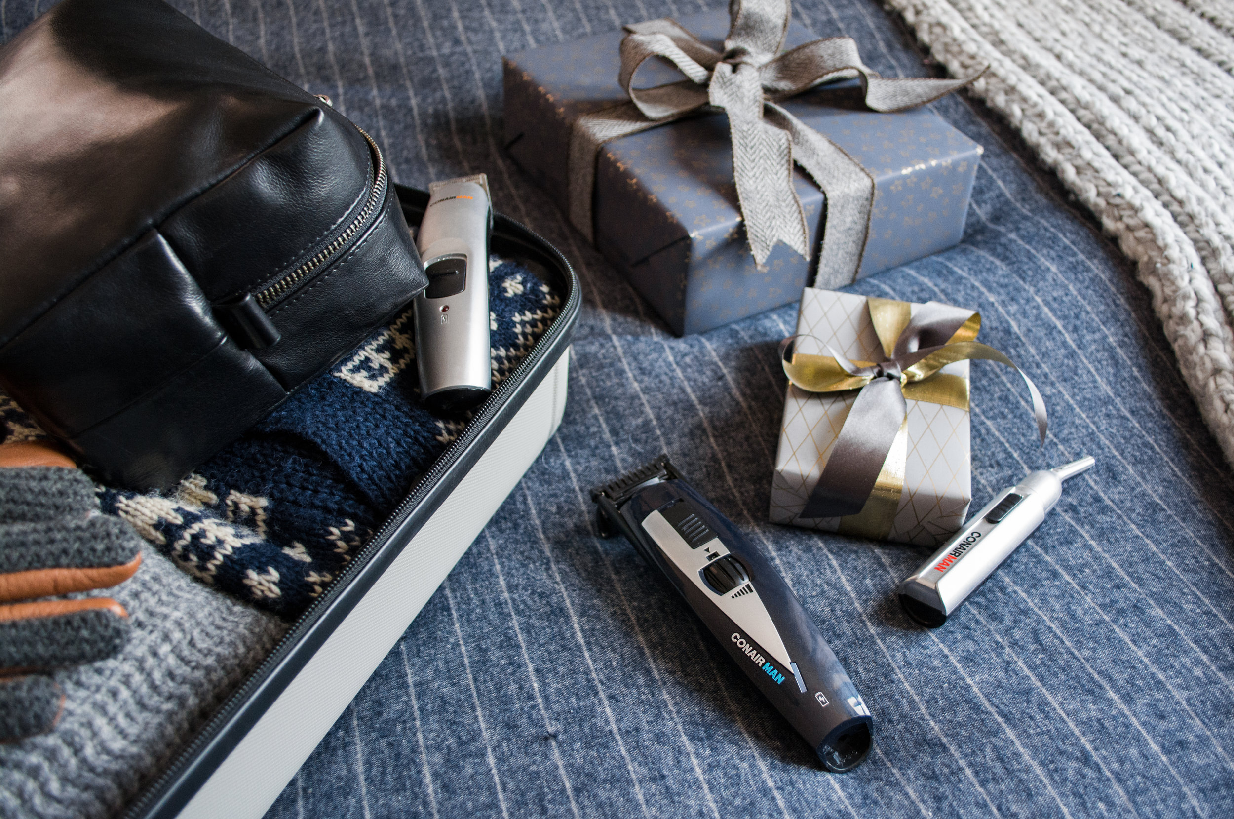 Conair Man- Grooming for the Holidays | The Modern Otter