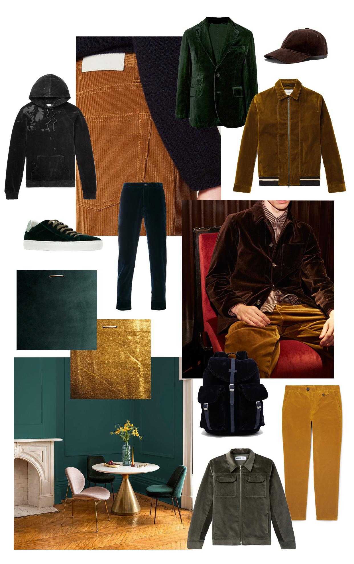 Velvet Trend in Menswear AW18   The Modern Otter