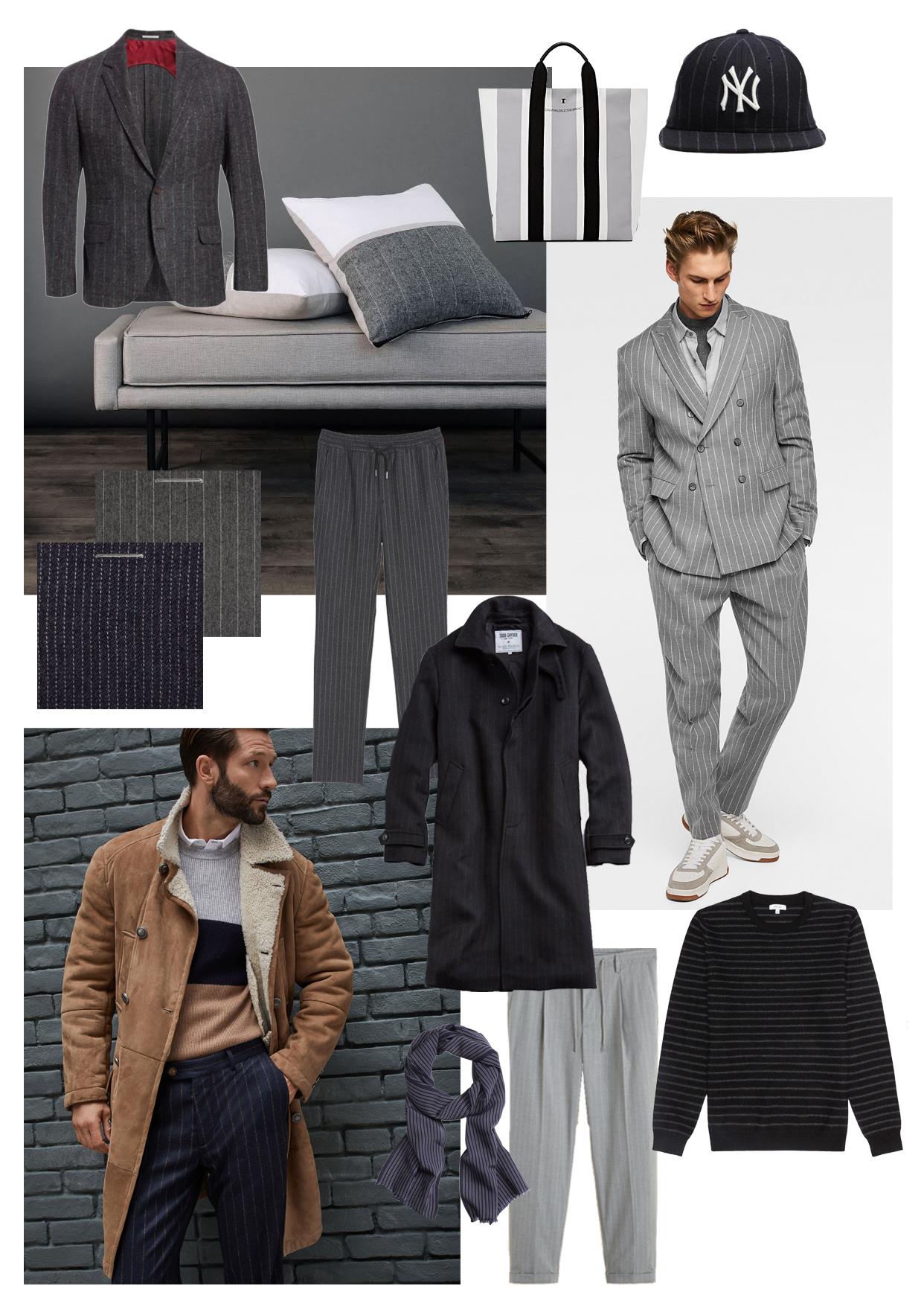 Pinstripe Menswear Trend | The Modern Otter