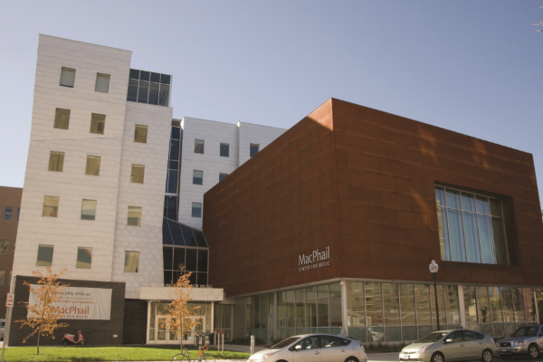 The MacPhail Center for Music in the Mills District of Downtown East, Minneapolis, Minnesota