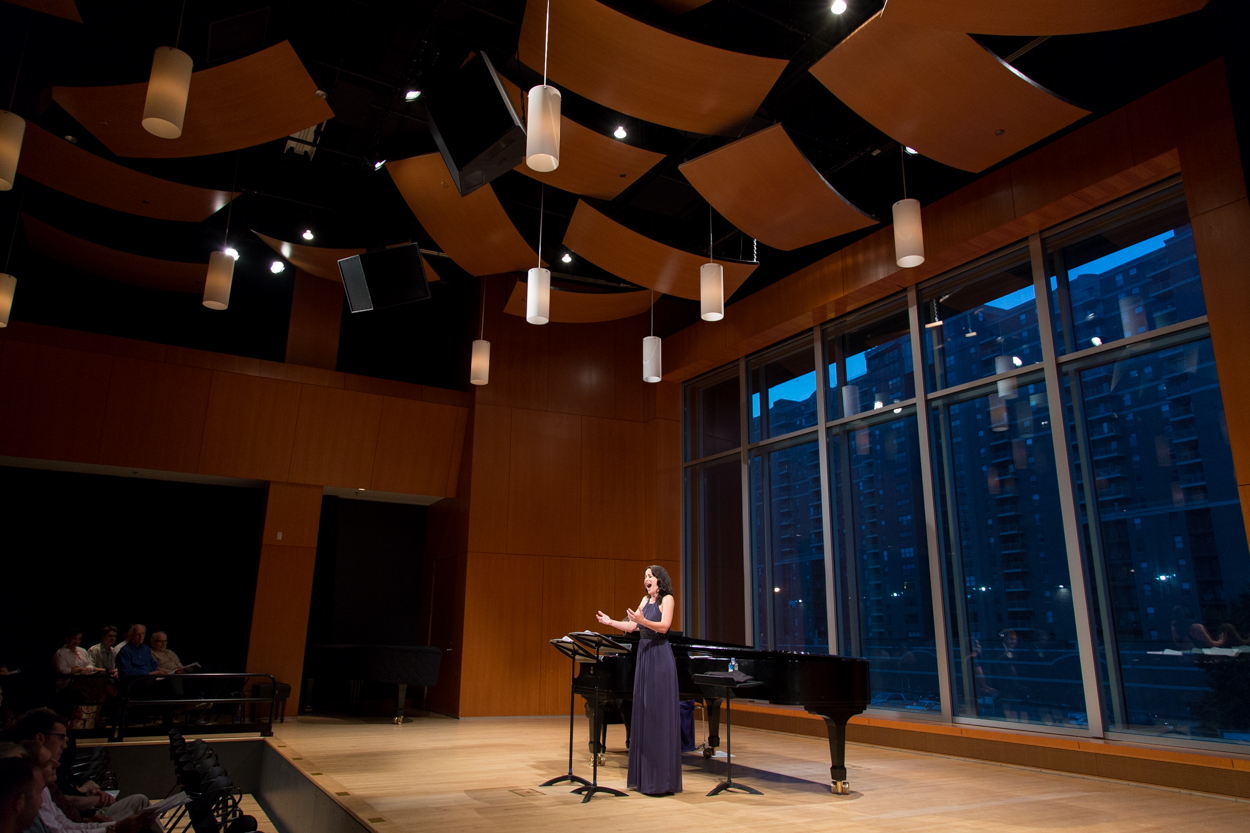 Adriana Zabala in Antonello Recital Hall