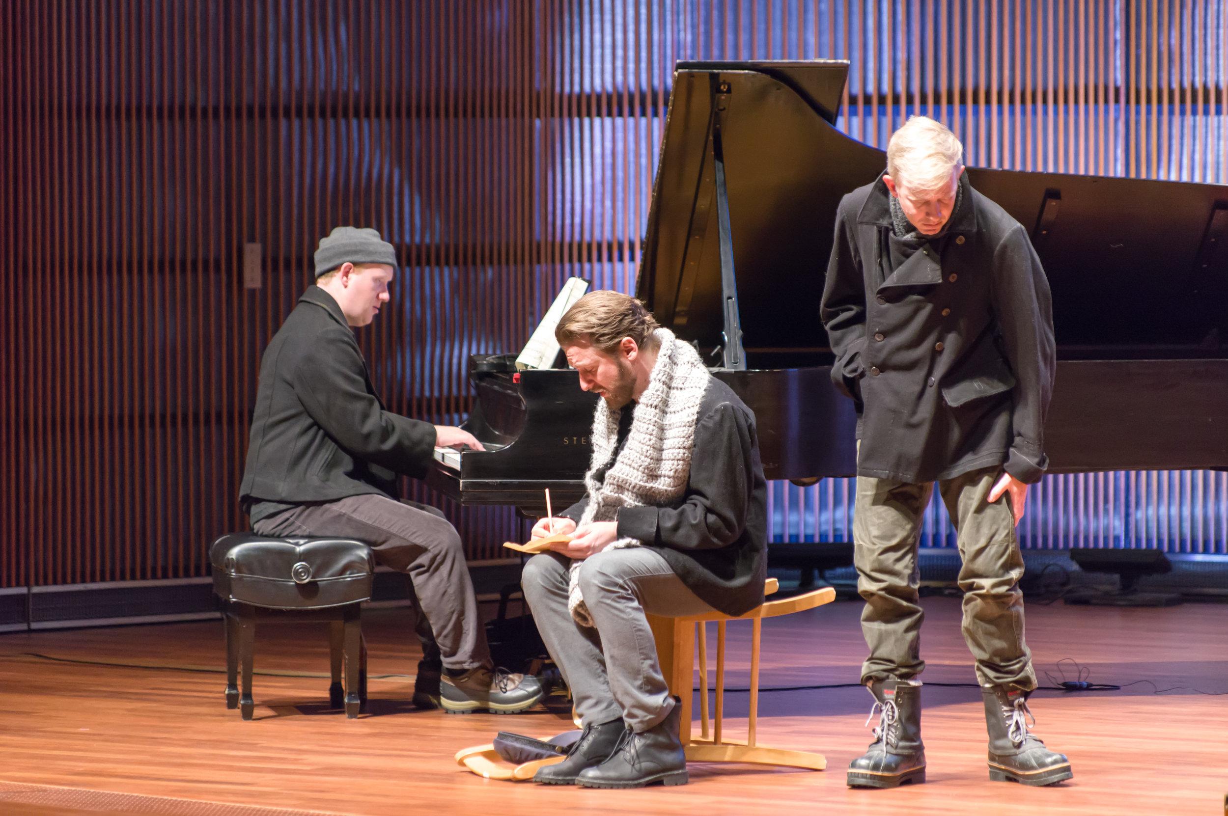 Tyler Wottrich, Jesse Blumberg, Alan Dunbar