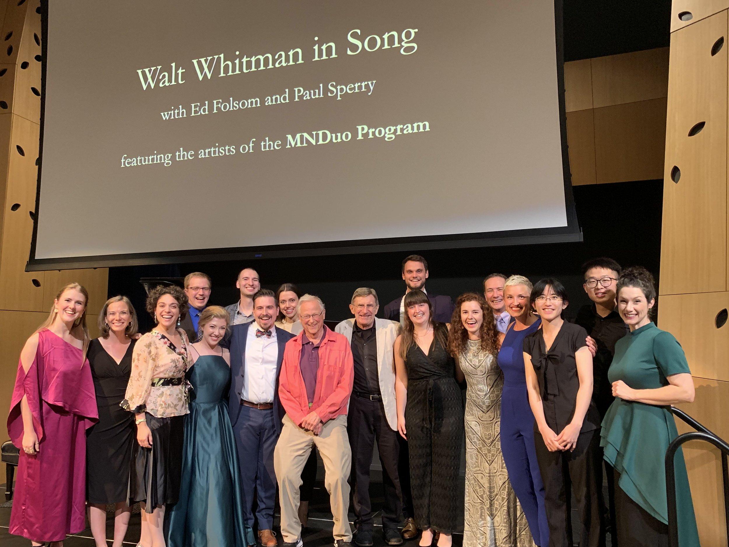 Walt Whitman in Song