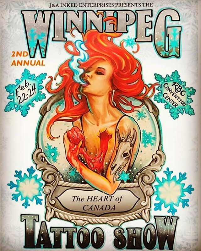 You can find Chad T. of @branded_souls_tattoos this weekend starting today at the Winnipeg Tattoo Show.  Check it out ... https://winnipegtattooshow.com/ . . #winnipegtattoos #winnipegtattooartist #winnipegtattooshow2019 #getone #tattoos #tattooideas #bigshow #finditdowntown #exchangedistrictwinnipeg #exchangedistrict #brandedsoulstattoos #crownandbeautyboutique @suicidalrookies @branded_souls_tattoos @crownandbeautyboutique