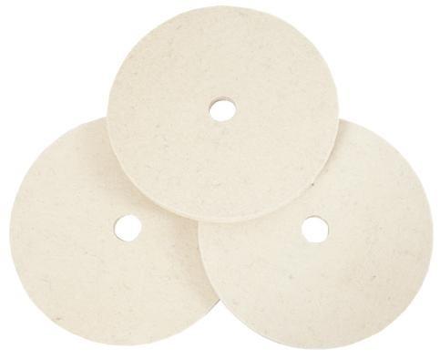 Firm and Soft Felt Polishing Discs