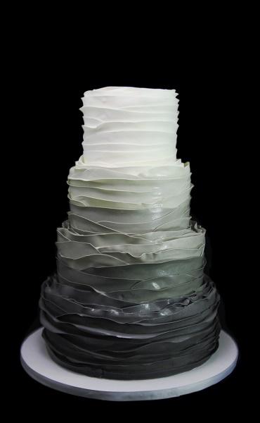 Fondant Ombre Ruffles Wedding Cake.jpg