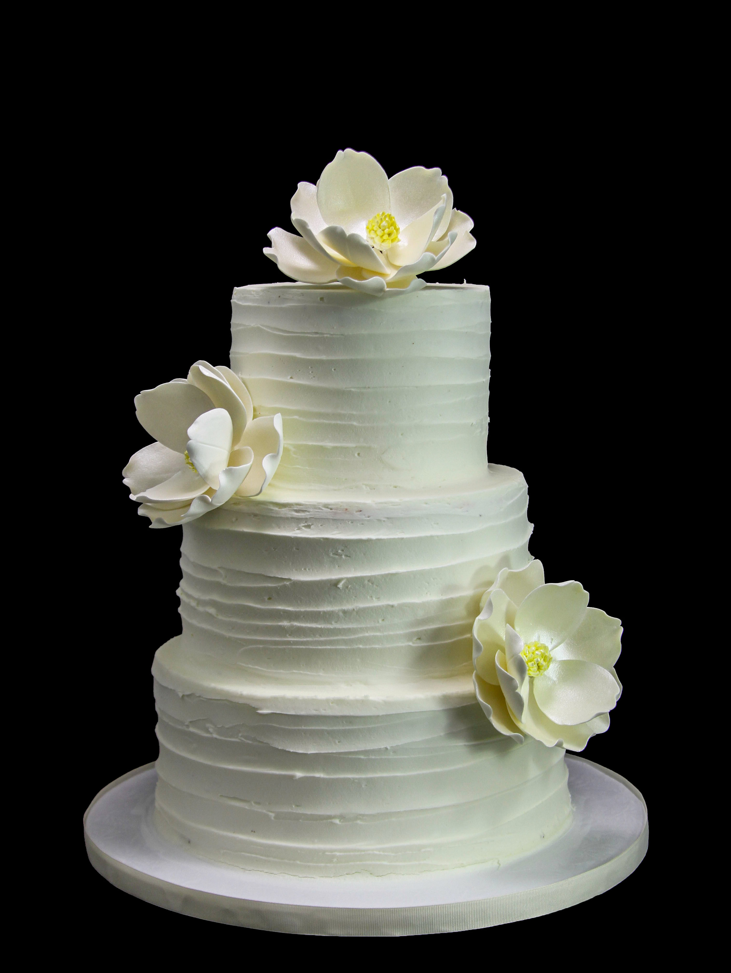 Magnolias Horizontal Old Wedding Cake.jpg
