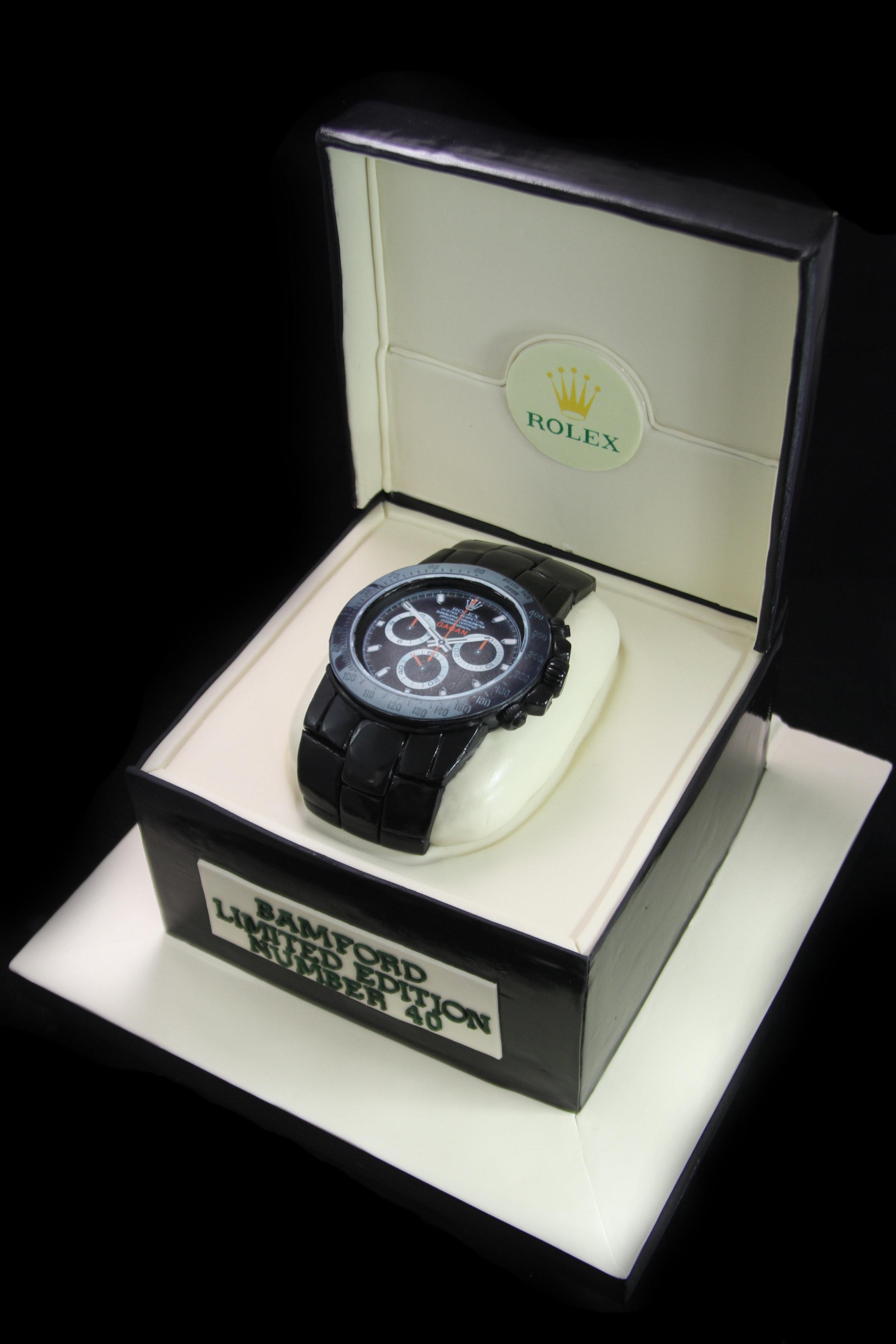 Rolex Watch in Box Cake.jpg