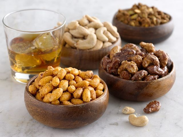 We absolutely go NUTS for our bar snacks, especially on #NationalNutDay.