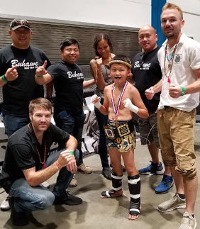 Nicholas Vang, Buhawe Muay Thai, Fresno, C. title won @ Championship Point Muay Thai, Fit Expo San Jose July 27, 2018