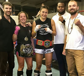 Monica knieley, Chaiyo muay thai, Richmond, ca. Title won @ Technical Bouts Championship, FreeFlow Academy sept 29 2018