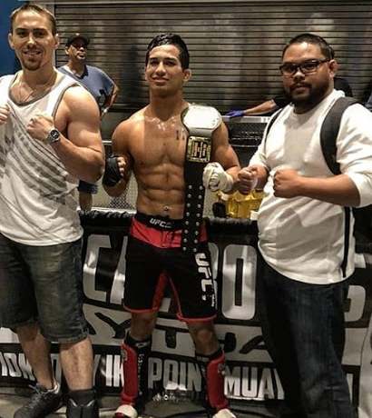 Ezra Clark, INDEPENDENT. title won @ Championship Point Muay Thai, Fit Expo San Jose, July 27, 2018