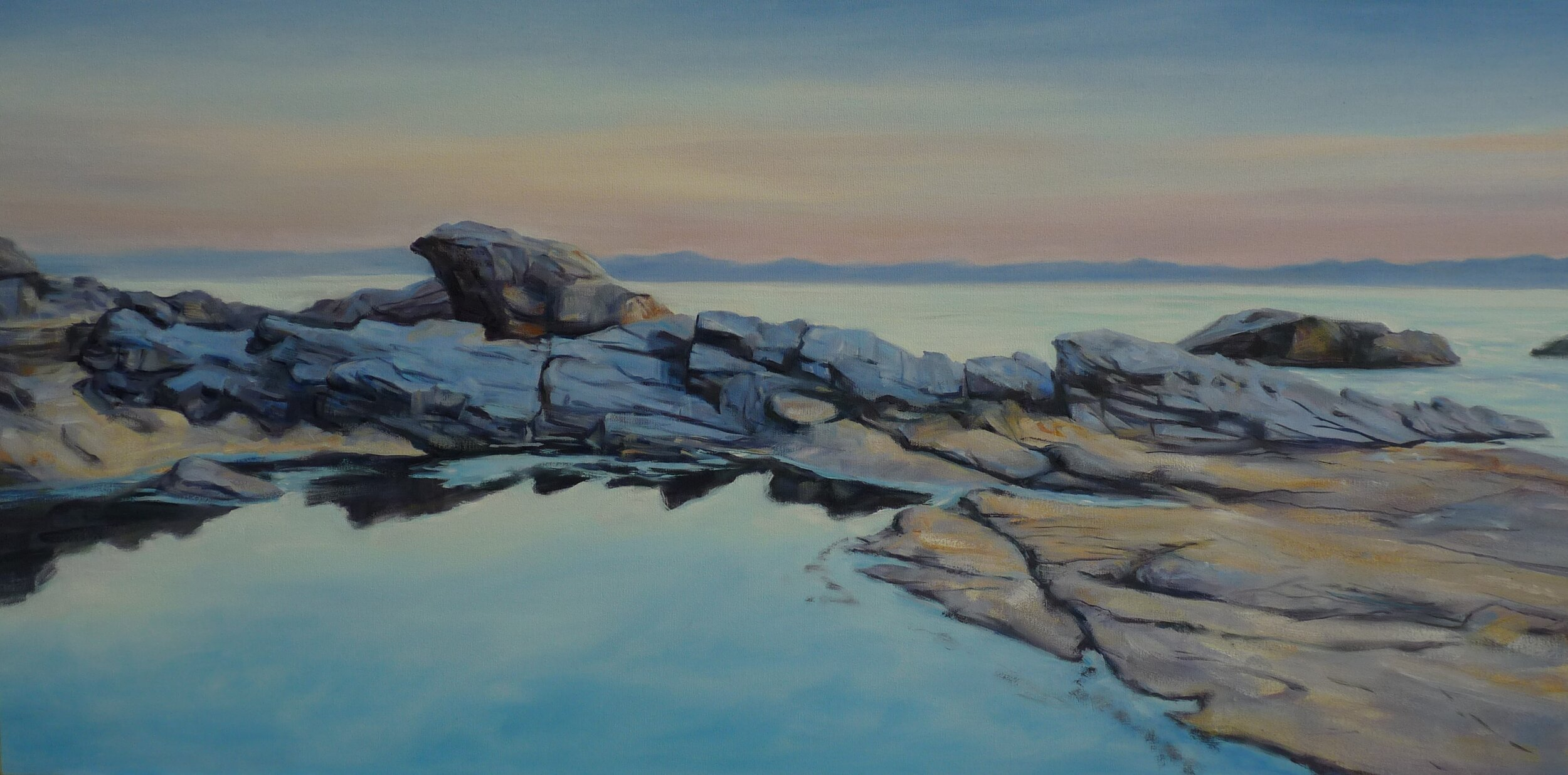 West Coast Evening oil 18x 36.JPG