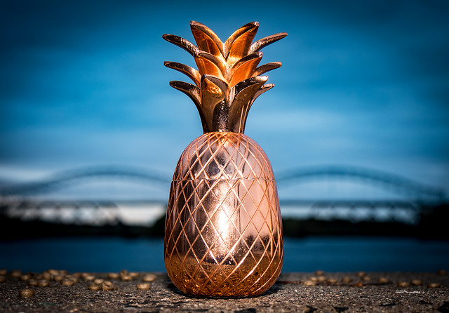 Don't give up. - And don't sacrifice the pineapple.