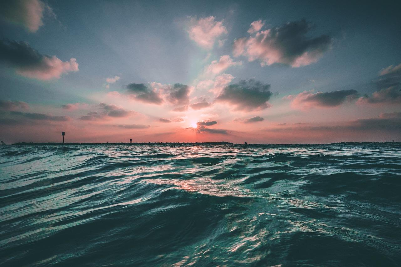 Sunset over the ocean.jpg