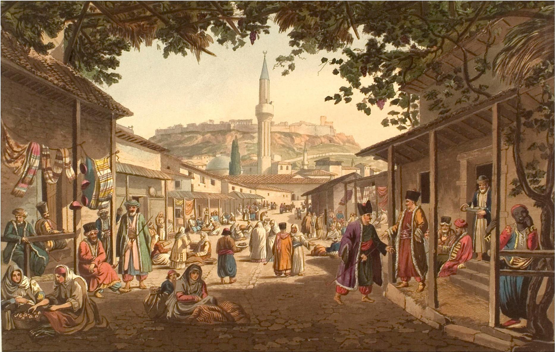 Bazaar of Athens