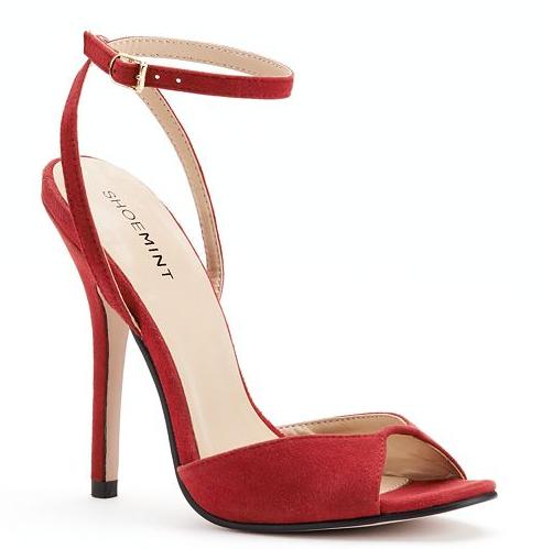 Shoe Mint Ankle Strap Heel