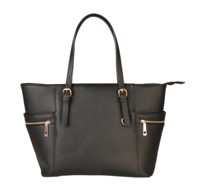 Diophy Black Tote Bag