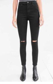 BDG Black Skinny Jeans