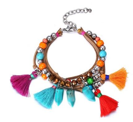 Amazon Tassel Bracelet