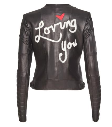 Alice + Olivia Leather Jacket