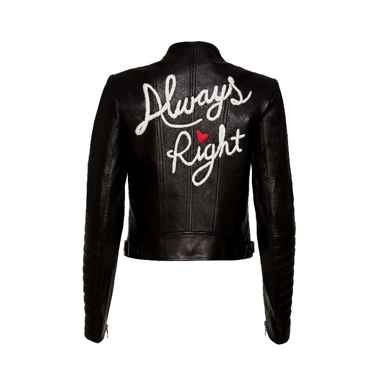 Alice & Olivia Leather Jacket