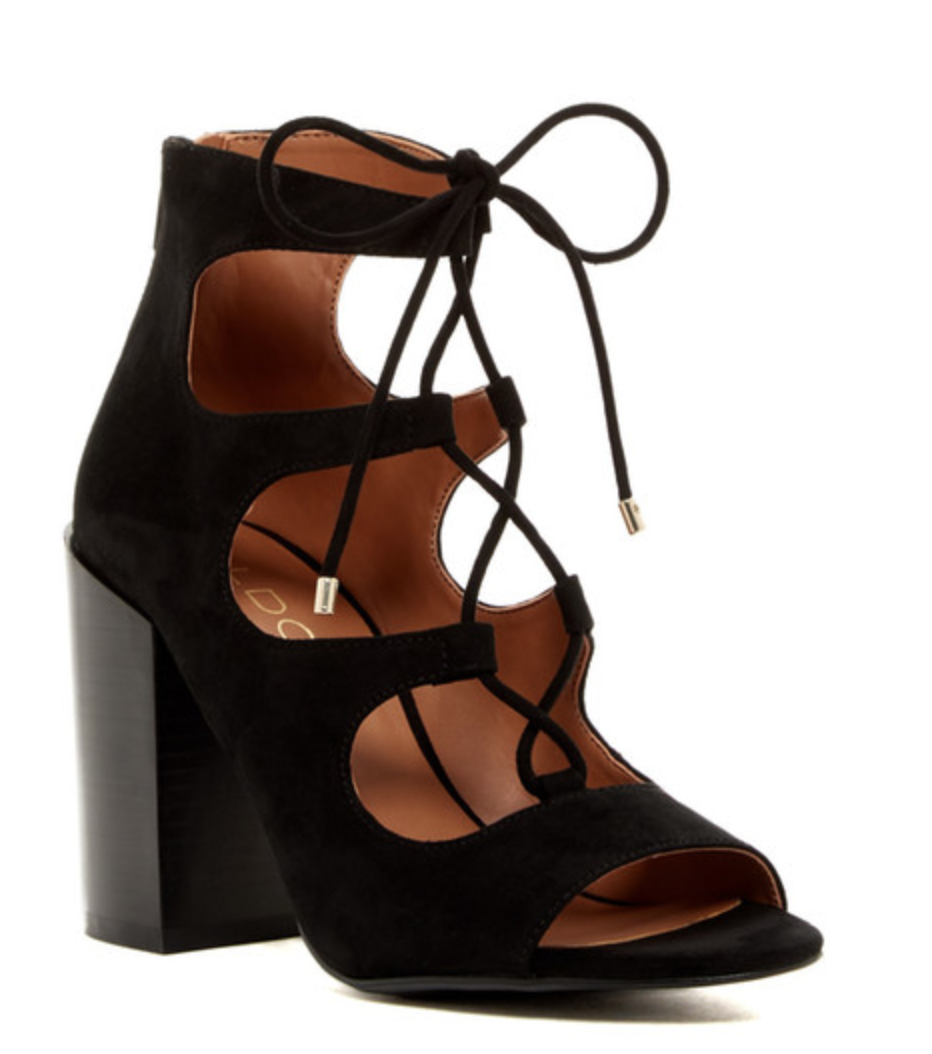 Aldo Lace Up Booties