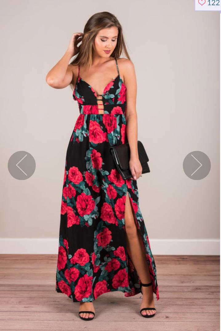 Mint Julep Maxi Dress $47.00