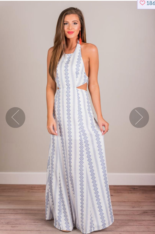 Mint Julep Maxi Dress
