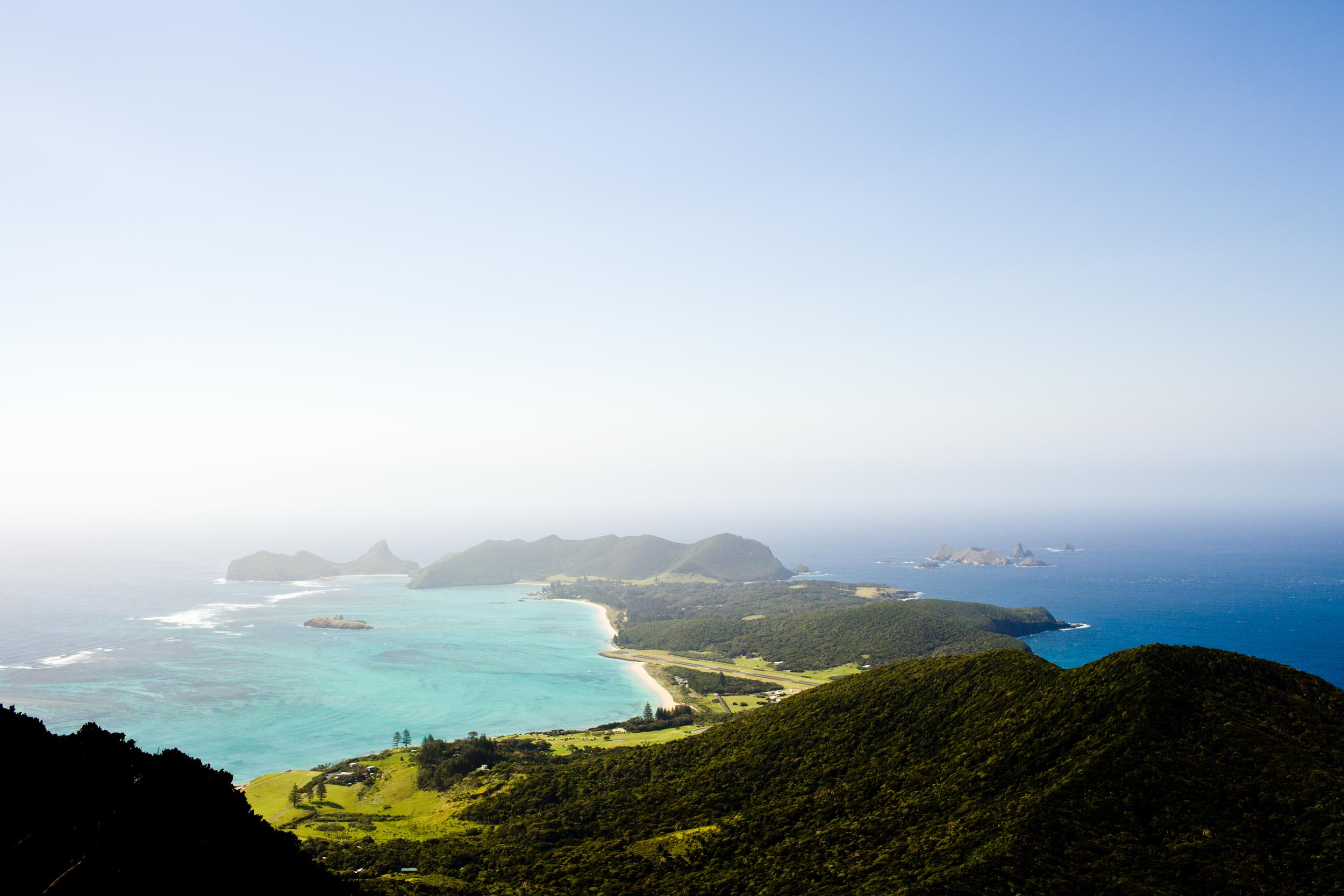 Lord Howe Island, showing off it's full beauty