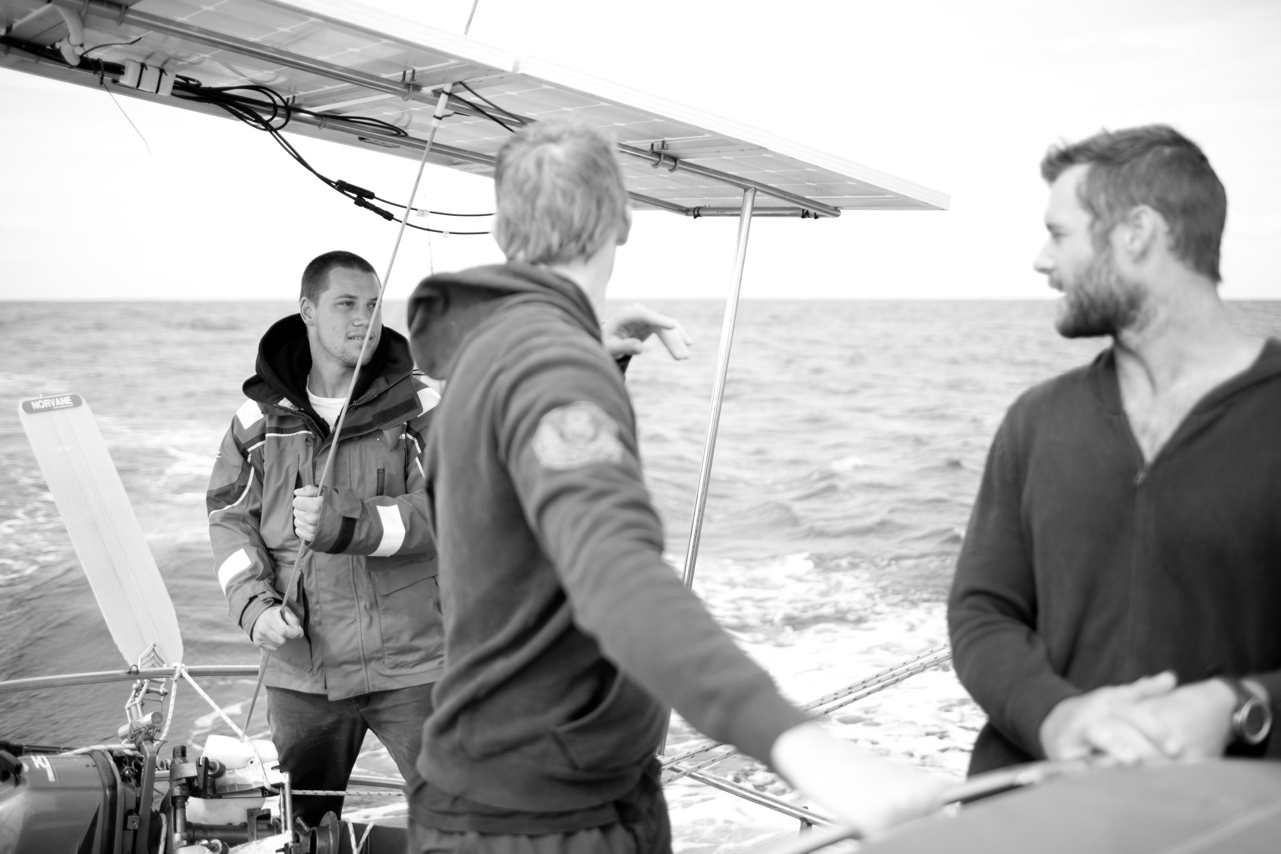 Captain Alex. Photograph: Julia Wheeler Photography