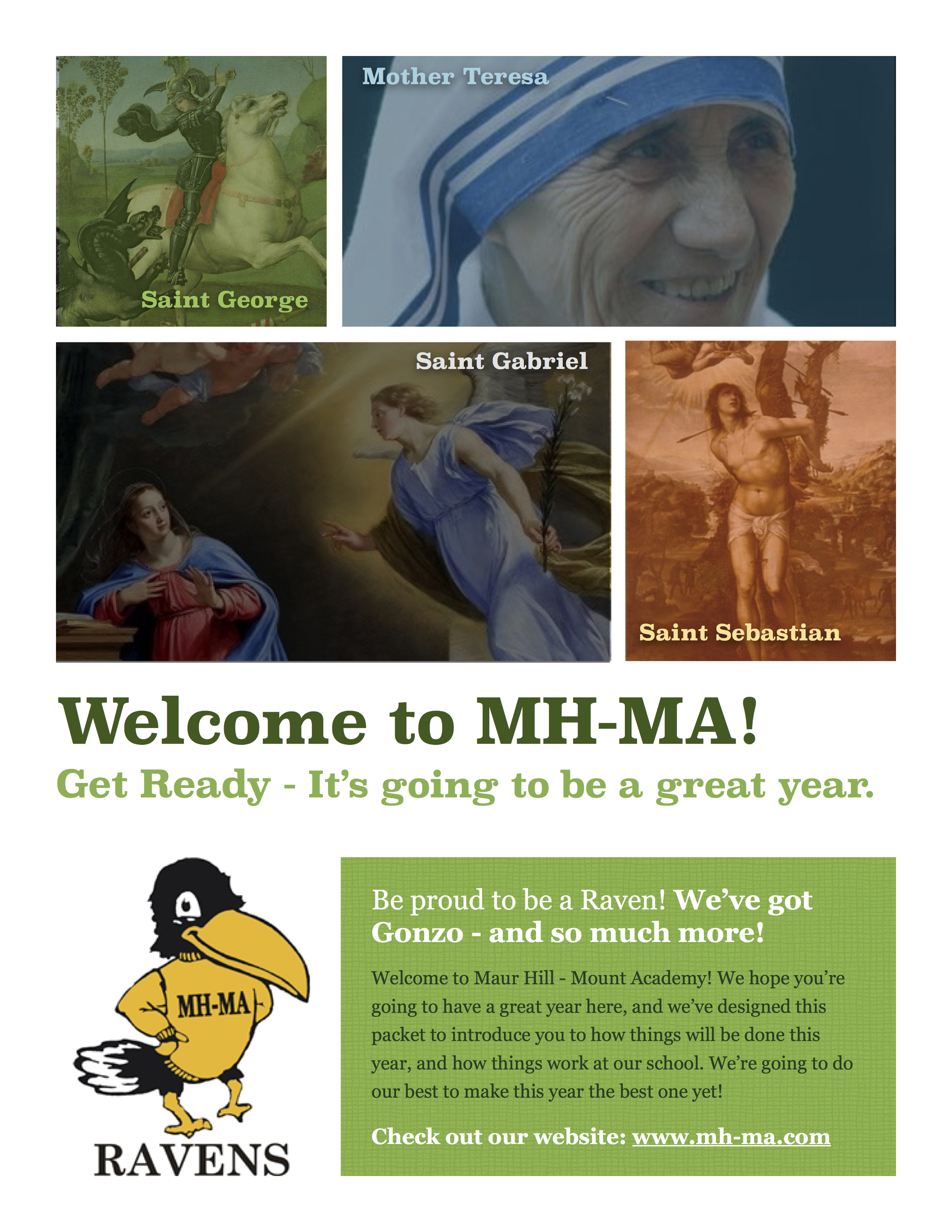 Introduction Packet for MH-MA 2014-15 School Year