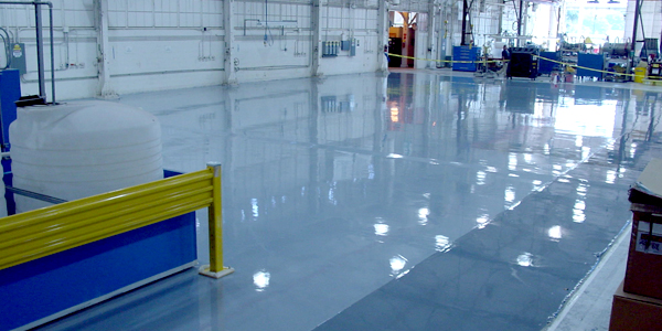 Trust T.W. Hicks, Inc. to Provide Your Manufacturing Industry Flooring Solutions!