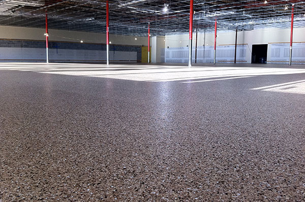 T.W. Hicks, Inc. will help you and your company pick the right warehouse flooring finish!