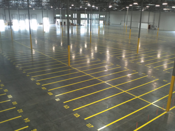 Follow these helpful tips from T.W. Hicks, Inc. for safe and efficient warehouse floor markings!