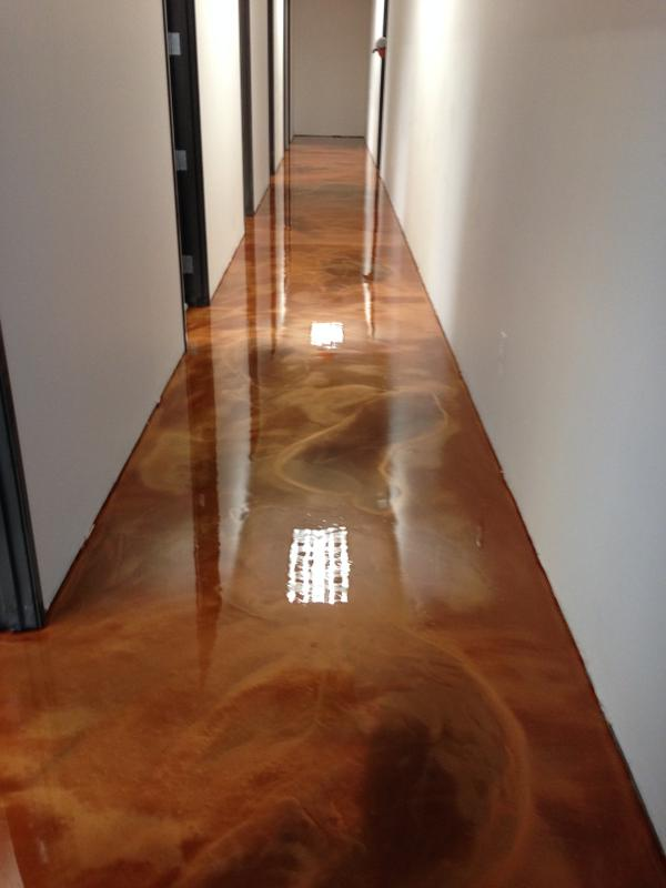 Metallic Flake Resinous Flooring from T.W. Hicks, Inc. in Lake Dallas and San Antonio, Texas!