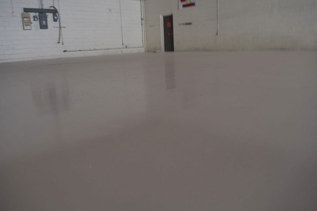 Beautiful new industrial floors in Texas by T.W. Hicks and Sika flooring!