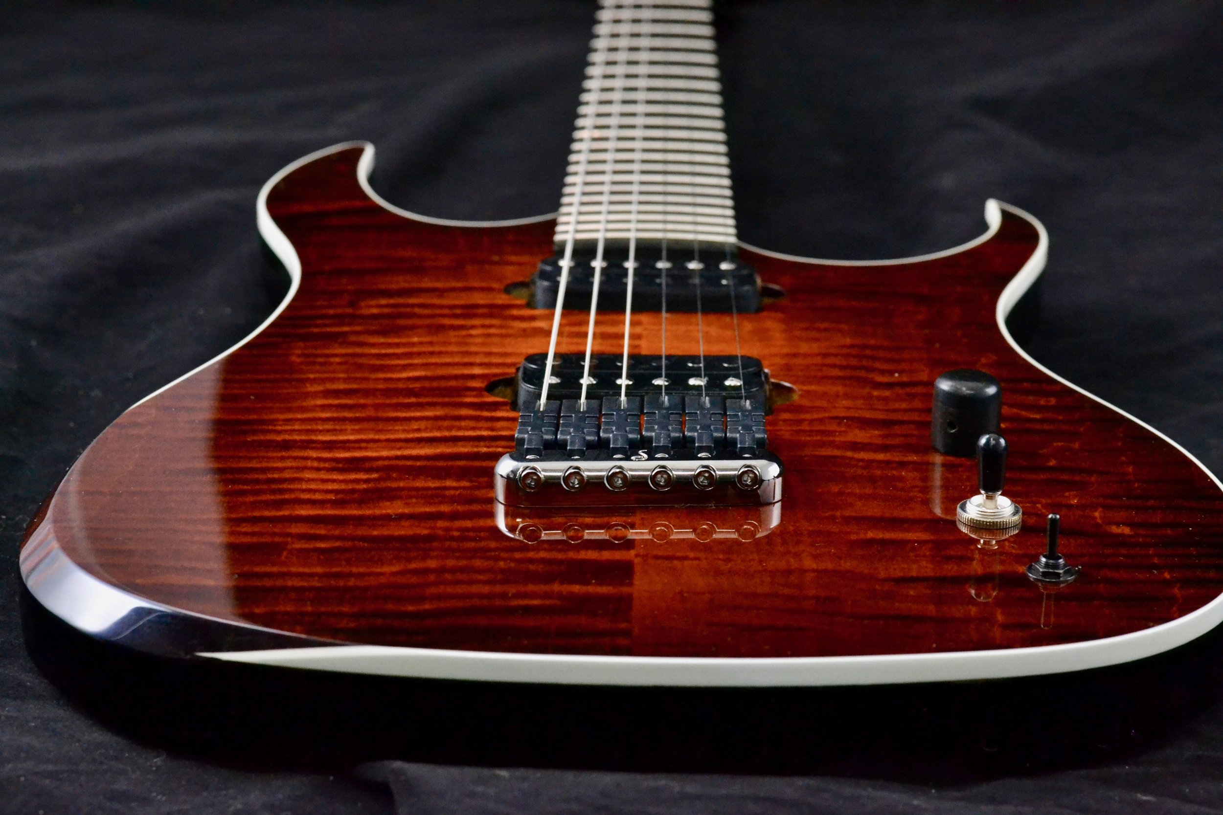 """PRAGMATIST - A """"Super Strat"""" style electric, for those who need to shred…"""