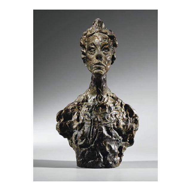 """Annette Giacometti; """"Buste d'annette""""(Dit venise), 1960"""