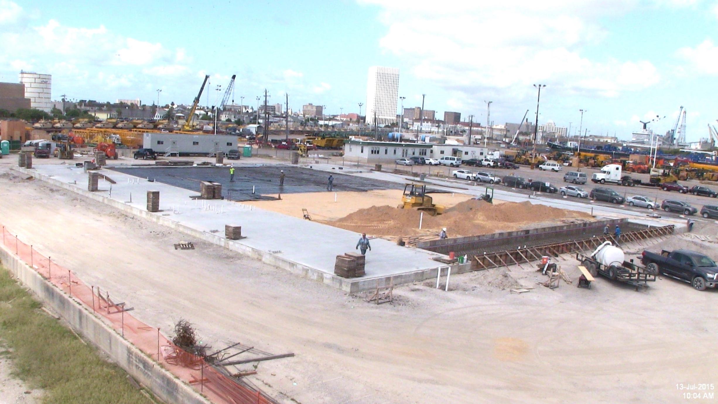 BMW Vehicle Processing Center, Galveston, TX