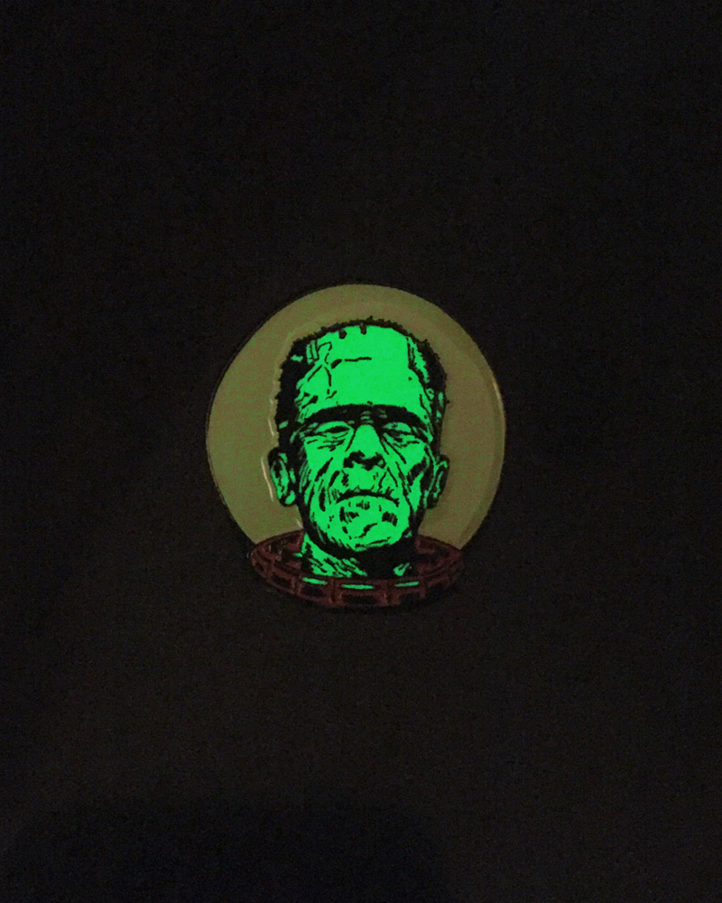 FrankenNaut Pin by Big Bot Design