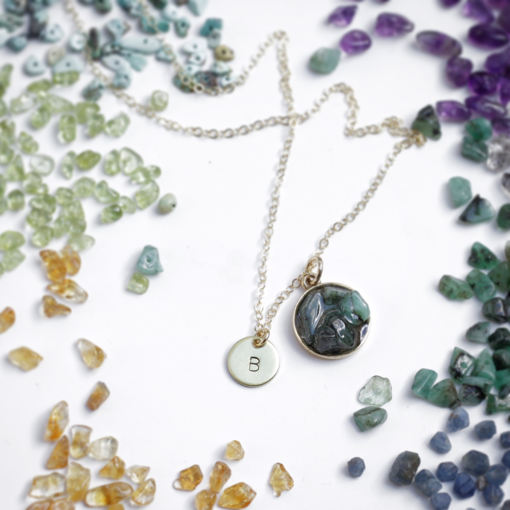 BIRTHSTONE CLUSTER COLLECTION