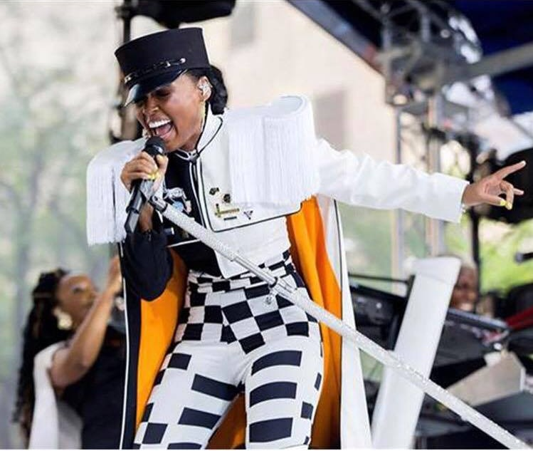 Janelle Monae wore my I Believe in Science pin along with many other makers' enamel pins during her Today Show performance.