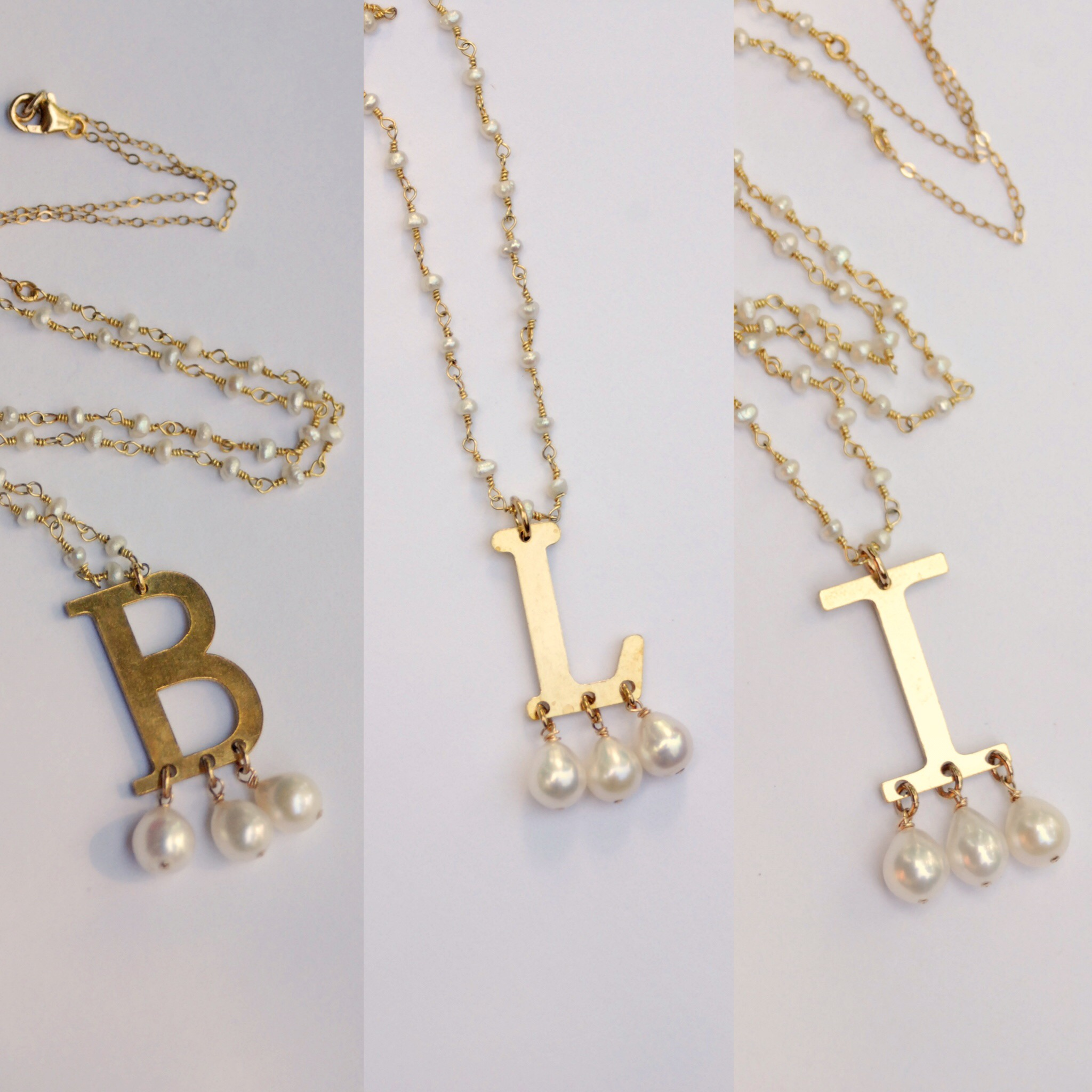 Nearly every letter of the alphabet is available, so you can wear your own  Anne Boleyn style monogram necklace.