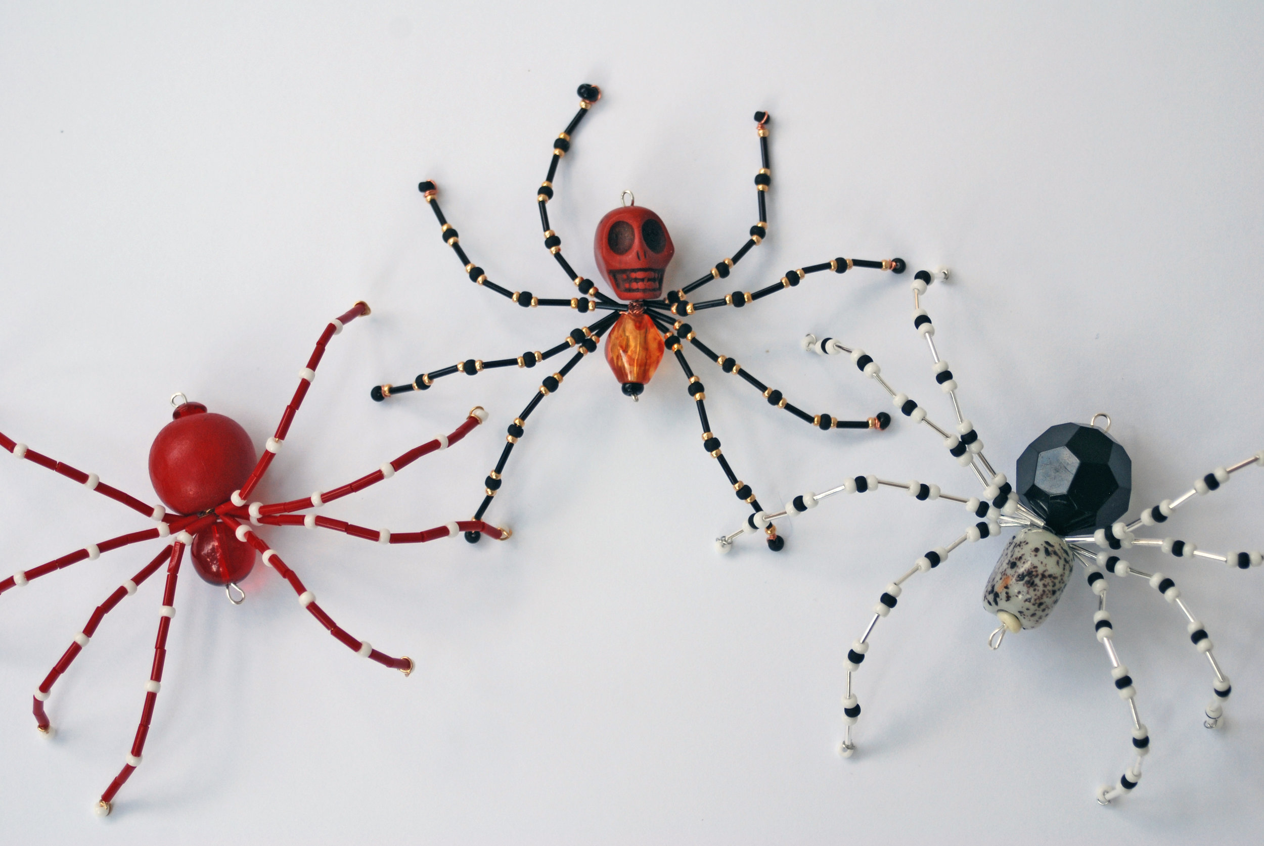 Design your own colorful, quirky beaded spider at this laid-back class that'll serve spooky snacks and get you into the Halloween spirit. This classes is part of Bead 'n Bitch, a new series of crafty classes in Little Rock, Arkansas, curated by jewelry maker Bang-Up Betty.
