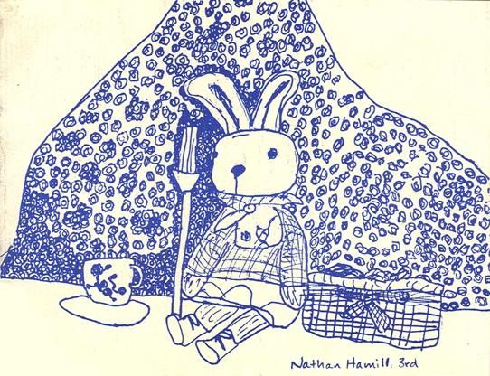Bunny Still Life